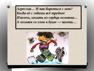 """Родительское собрание """"Детская агрессивность"""""""