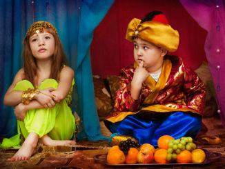 Новогодняя восточная сказка